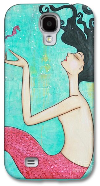Water Nymph Galaxy S4 Case by Natalie Briney