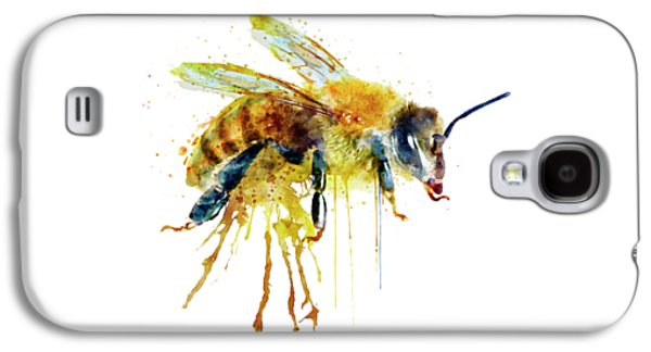 Watercolor Bee Galaxy S4 Case by Marian Voicu