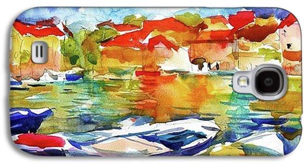 Galaxy S4 Case - Watercolor Boats By Svetlana Novikova ( by Svetlana Novikova