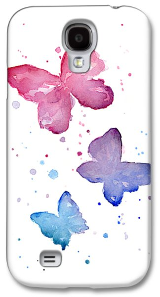 Watercolor Butterflies Galaxy S4 Case