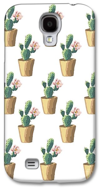 Watercolor Cactus Galaxy S4 Case by Roam  Images