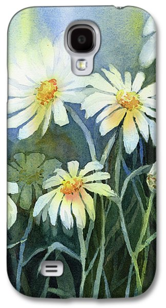 Daisy Galaxy S4 Case - Daisies Flowers  by Olga Shvartsur