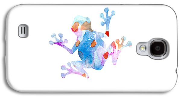 Watercolor Frog Galaxy S4 Case by Nursery Art