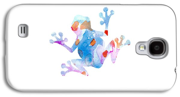 Watercolor Frog Galaxy S4 Case