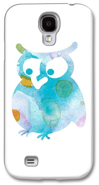 Watercolor Owl Galaxy S4 Case