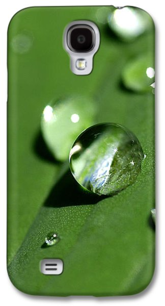 Waterdrops Galaxy S4 Case by Melanie Viola