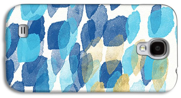 Waterfall- Abstract Art By Linda Woods Galaxy S4 Case by Linda Woods