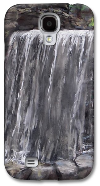 Waterfall At Longfellow's Gristmill Galaxy S4 Case by Jack Skinner