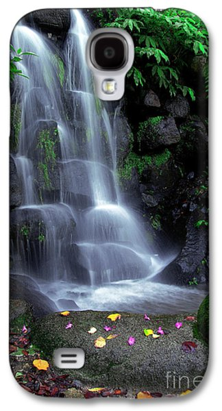 Beautiful Creek Galaxy S4 Cases - Waterfall Galaxy S4 Case by Carlos Caetano