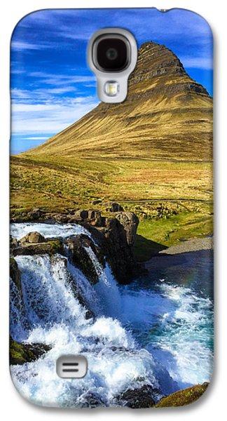 Amazing Galaxy S4 Case - Waterfall In Iceland Kirkjufellfoss by Matthias Hauser