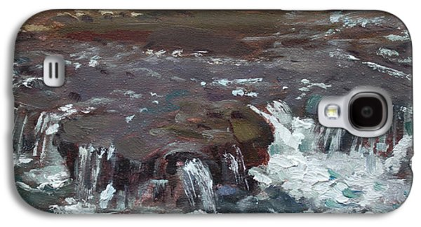 Waterfalls At Three Sisters Islands Galaxy S4 Case by Ylli Haruni