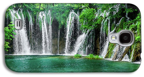 Waterfalls Panorama - Plitvice Lakes National Park Croatia Galaxy S4 Case