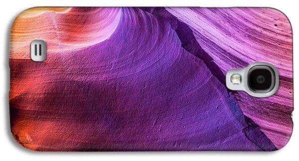 Waterhole Canyon Wave Galaxy S4 Case