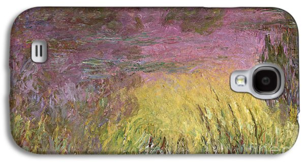 Waterlilies At Sunset Galaxy S4 Case