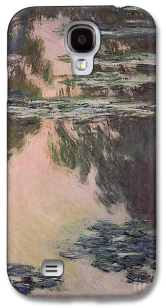 Waterlilies With Weeping Willows Galaxy S4 Case