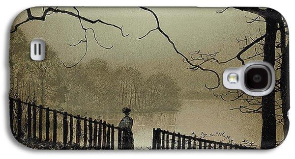 Waterloo Lake Roundhay Park Leeds Galaxy S4 Case