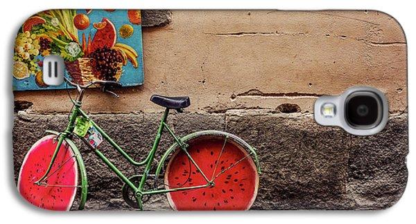 Watermelon Wheels Galaxy S4 Case