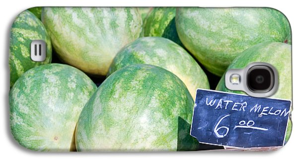 Watermelons With A Price Sign Galaxy S4 Case by Paul Velgos