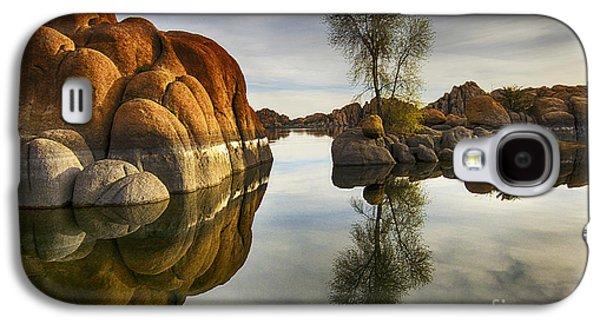 Watson Lake Arizona 12 Galaxy S4 Case by Bob Christopher