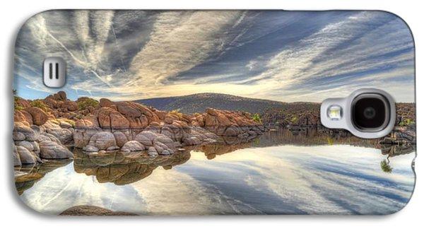 Watson Lake Reflections Galaxy S4 Case