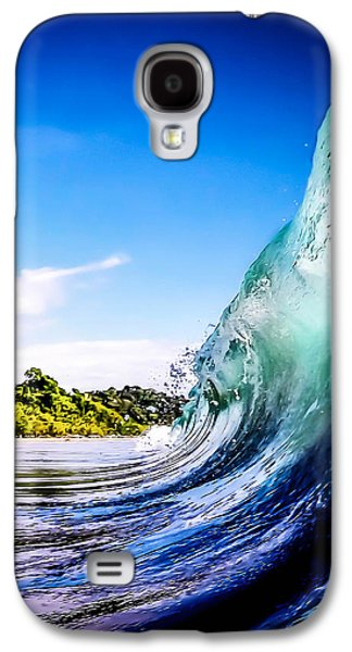Wave Wall Galaxy S4 Case by Nicklas Gustafsson