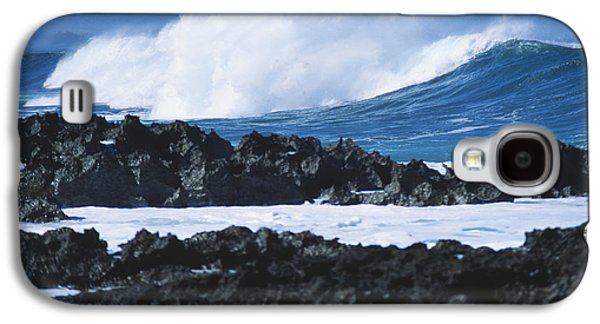 Waves And Rocks Galaxy S4 Case by Kyle Rothenborg - Printscapes