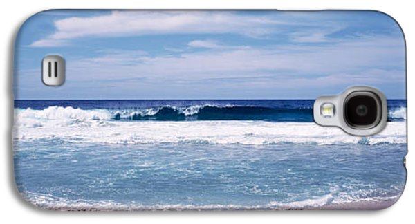 Waves Crashing On The Beach, Big Sur Galaxy S4 Case by Panoramic Images