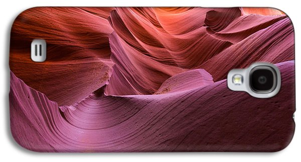 Waves-lower Antelope Canyon Galaxy S4 Case