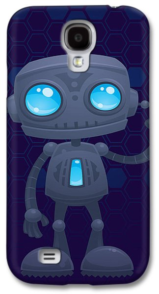 Waving Robot Galaxy S4 Case
