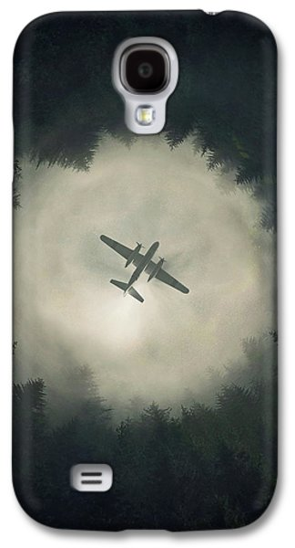 Airplane Galaxy S4 Case - Way Out by Zoltan Toth