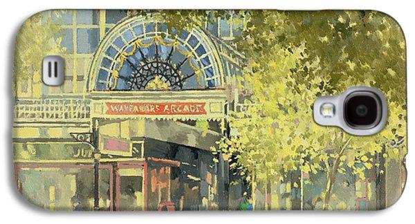 Wayfarer's Arcade Galaxy S4 Case by Peter Miller