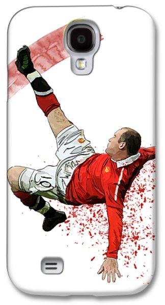Wayne Rooney Galaxy S4 Case by Armaan Sandhu
