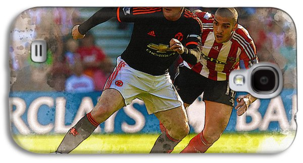 Wayne Rooney Is Marshalled Galaxy S4 Case by Don Kuing