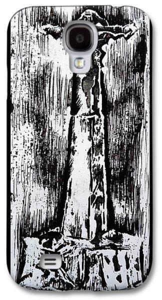Wayside Cross Galaxy S4 Case by Lucy Deane