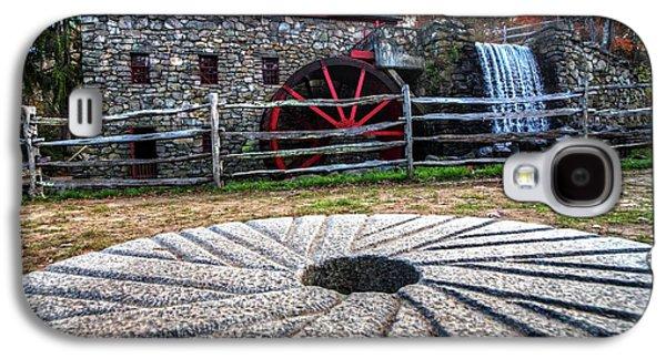 Wayside Inn Grist Mill Millstone Galaxy S4 Case by Toby McGuire