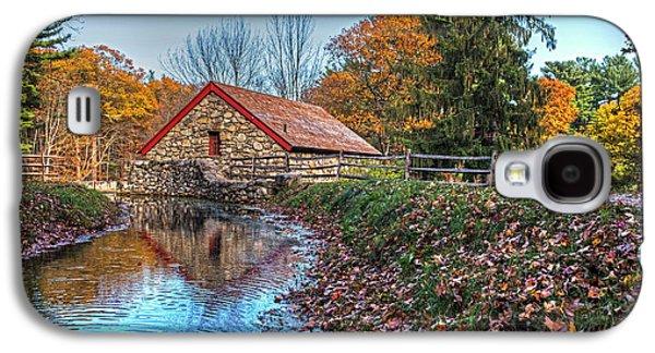 Wayside Inn Grist Mill Stream Sudbury Ma Galaxy S4 Case by Toby McGuire