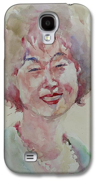 Wc Portrait 1627 My Sister Hyunju Galaxy S4 Case