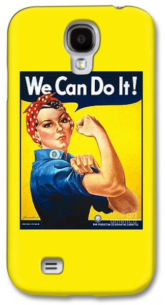 We Can Do It Rosie The Riveter Poster Galaxy S4 Case