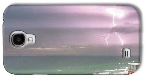 Beach Landscape Galaxy S4 Case - We Come In Peace by Az Jackson