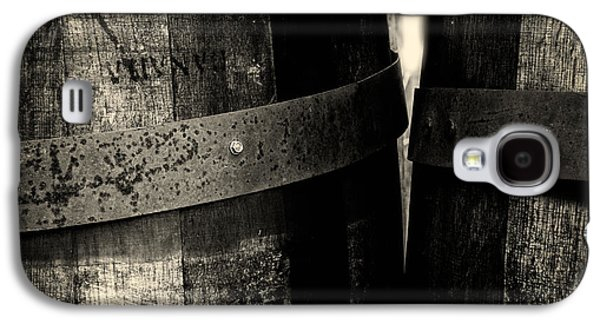 Weathered Old Apple Barrels Galaxy S4 Case by Bob Orsillo
