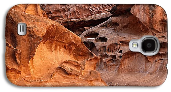 Weathered Sandstone Galaxy S4 Case by Leland D Howard