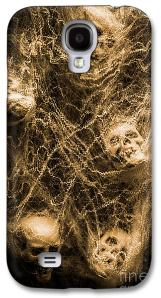 Shock Galaxy S4 Case - Web Of Entrapment by Jorgo Photography - Wall Art Gallery