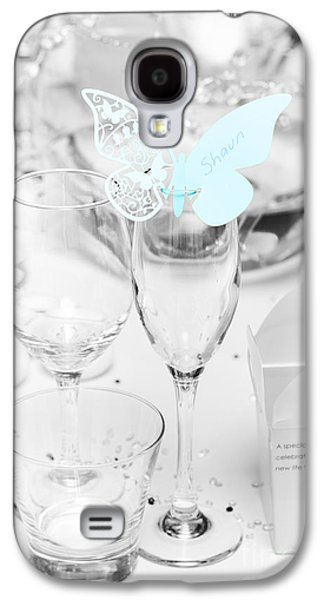 Wedding Table Decoration At Reception Galaxy S4 Case by Jorgo Photography - Wall Art Gallery