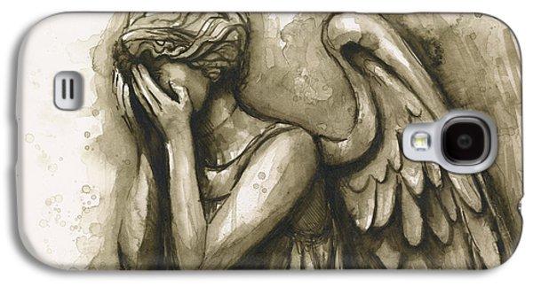 Weeping Angel Galaxy S4 Case