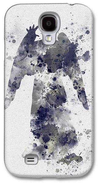 Weeping Angel Galaxy S4 Case by Rebecca Jenkins