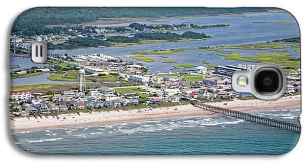 Welcome Aboard Surf City Topsail Island Galaxy S4 Case by Betsy Knapp