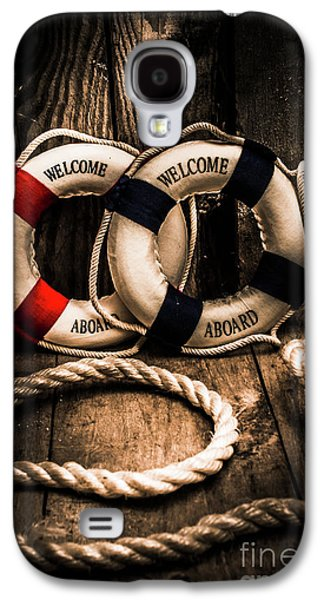 Welcome Aboard The Dark Cruise Line Galaxy S4 Case by Jorgo Photography - Wall Art Gallery