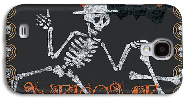 Welcome Ghoulish Guests Galaxy S4 Case by Debbie DeWitt