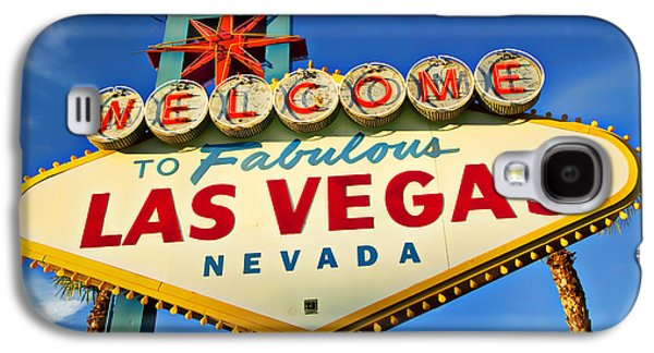 Welcome To Las Vegas Sign Galaxy S4 Case by Garry Gay