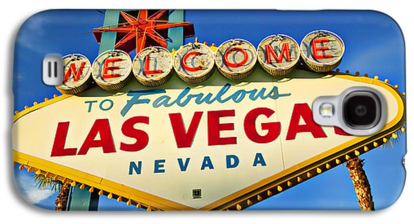 Travel Galaxy S4 Case - Welcome To Las Vegas Sign by Garry Gay